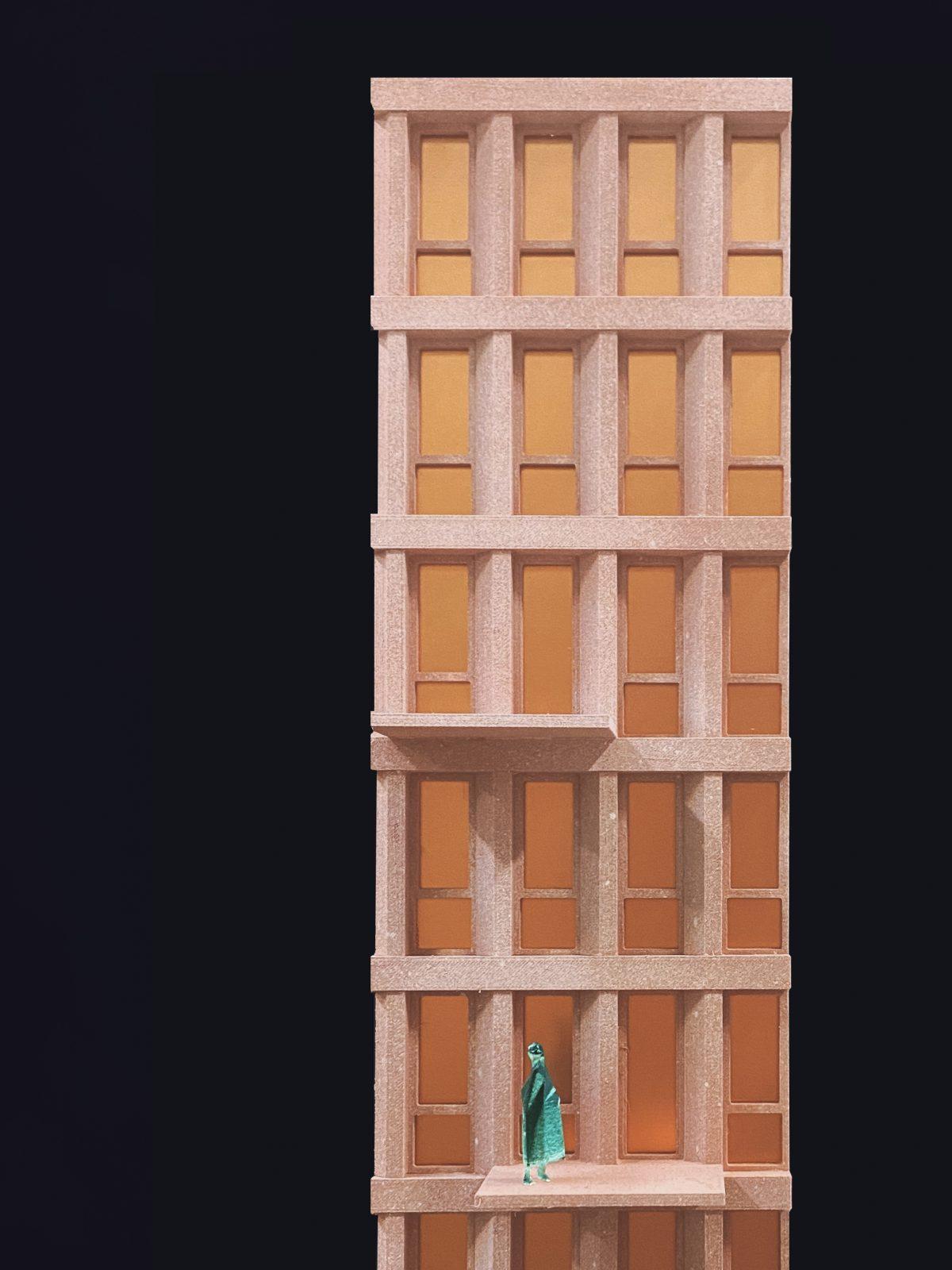 Studioninedots Highnote Almere model facade